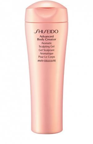 Улучшенный ароматический гель для коррекции фигуры Shiseido. Цвет: бесцветный