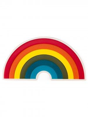 Стикер Rainbow Anya Hindmarch. Цвет: красный