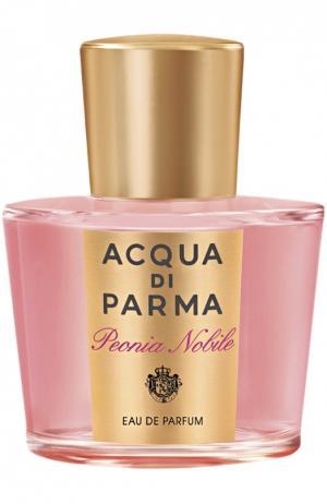 Парфюмерная вода Peonia Nobile Acqua di Parma. Цвет: бесцветный