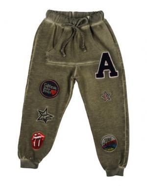 Повседневные брюки ALLIGALLI. Цвет: зеленый-милитари