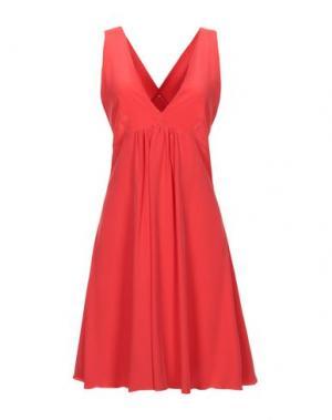 Короткое платье FRANCESCA FERRANTE. Цвет: красный