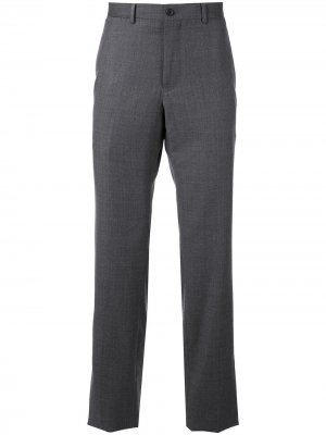 Классические брюки Kent & Curwen. Цвет: серый