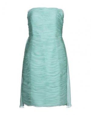 Платье до колена CARLO PIGNATELLI CERIMONIA. Цвет: светло-зеленый