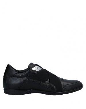 Кеды и кроссовки ROBERTO BOTTICELLI. Цвет: черный