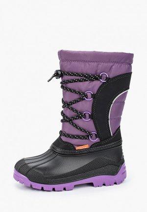 Сапоги Demar. Цвет: фиолетовый