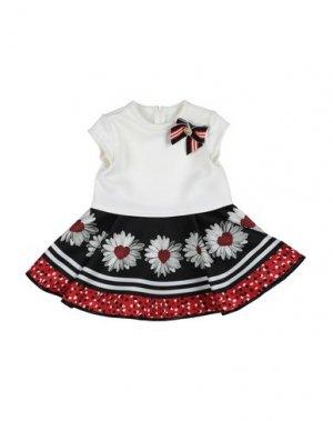 Платье LOREDANA. Цвет: белый