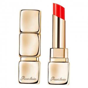 Помада для губ KissKiss Shine Bloom, 775 Красный мак Guerlain. Цвет: бесцветный