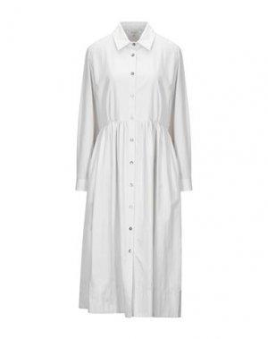 Платье длиной 3/4 GOSSIP. Цвет: светло-серый