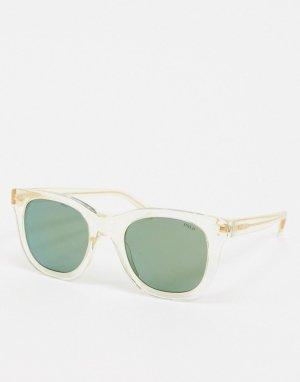 Квадратные солнцезащитные очки 0PH4160-Очистить Polo Ralph Lauren