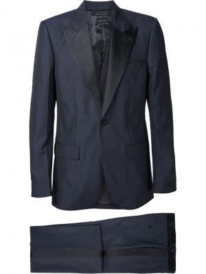Костюм-двойка с контрастными лацканами Marc Jacobs. Цвет: синий