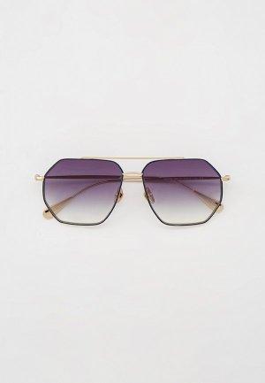 Очки солнцезащитные Baldinini BLD 2008 102 GOLD. Цвет: серебряный