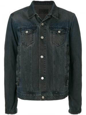 Классическая джинсовая куртка Rta. Цвет: серый