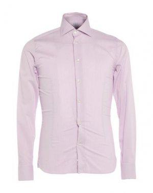 Pубашка BRANCACCIO. Цвет: сиреневый