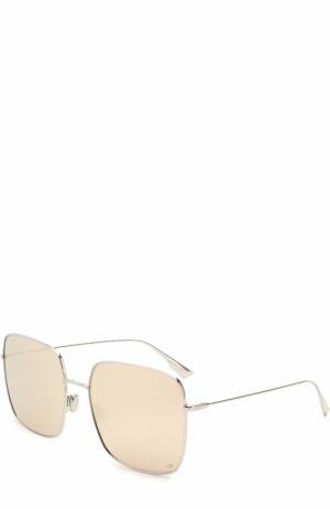 Солнцезащитные очки Dior. Цвет: серебряный