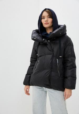Куртка утепленная Michael Kors. Цвет: черный