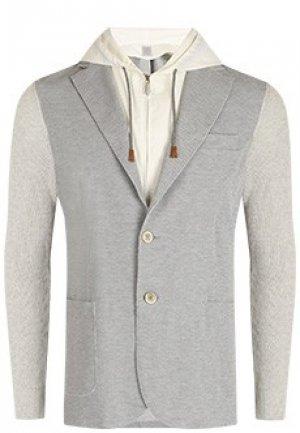 Пиджак ELEVENTY. Цвет: серый