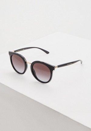 Очки солнцезащитные Dolce&Gabbana 0DG4371 53838G. Цвет: черный