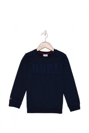 Свитшот U.S. Polo Assn.. Цвет: vr033 темно-синий