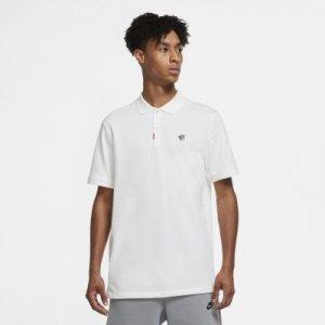 Рубашка-поло унисекс с плотной посадкой  Polo Naomi Osaka - Белый Nike