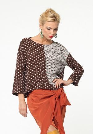 Блуза Kata Binska KEVIN. Цвет: коричневый