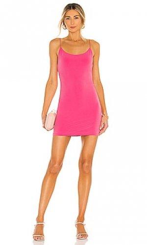 Платье delora Alice + Olivia. Цвет: розовый