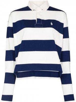 Рубашка поло в полоску Polo Ralph Lauren. Цвет: белый