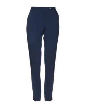 Повседневные брюки ANGELO MARANI. Цвет: синий