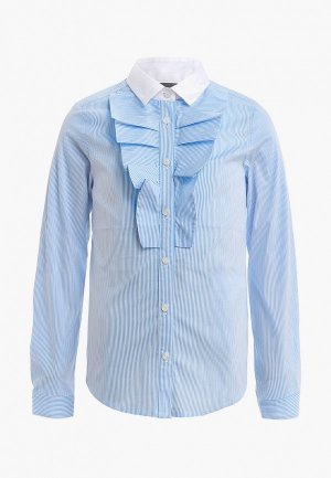 Блуза Gulliver. Цвет: голубой