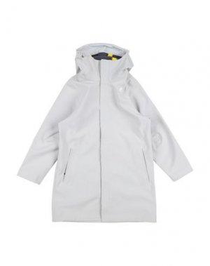 Куртка K-WAY. Цвет: светло-серый