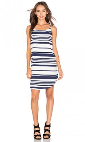 Платье riley BB Dakota. Цвет: синий