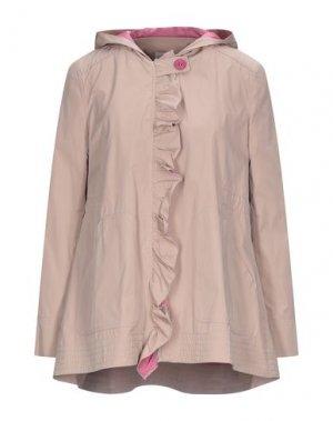 Куртка EMMA & GAIA. Цвет: бежевый