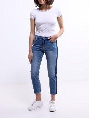 Зауженные джинсы Korpo Two. Цвет: siniy
