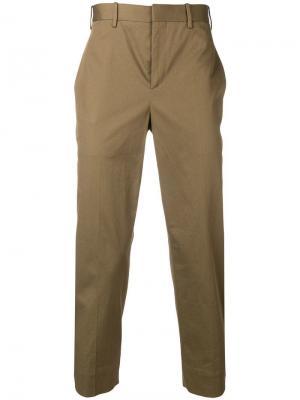 Укороченные классические брюки Neil Barrett