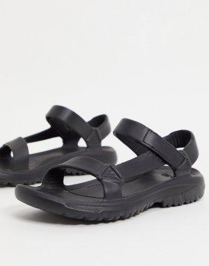 Черные сандалии Hurricane Drift EVA-Черный цвет Teva