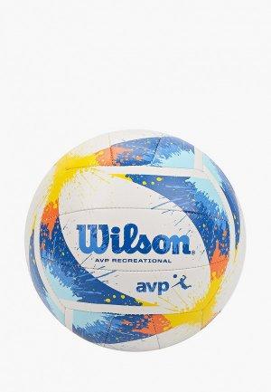 Мяч волейбольный Wilson AVP SPLATTER. Цвет: разноцветный