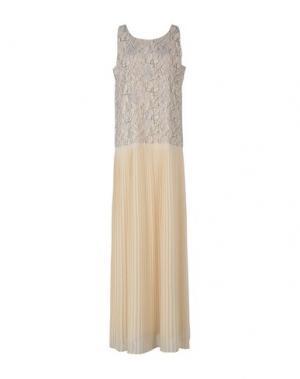 Длинное платье BLUGIRL BLUMARINE. Цвет: слоновая кость