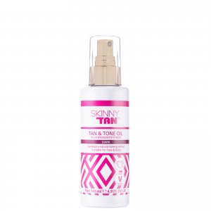 Увлажняющее масло-автозагар SKINNY TAN and Tone Oil - Dark 145 мл