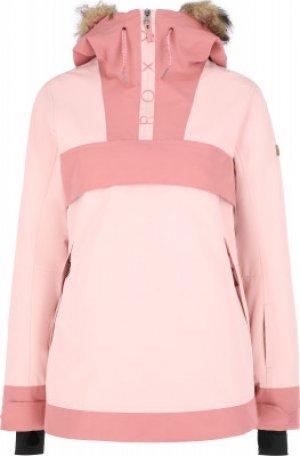 Куртка утепленная женская Shelter, размер 42 Roxy. Цвет: розовый