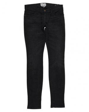 Джинсовые брюки CURRENT/ELLIOTT. Цвет: черный
