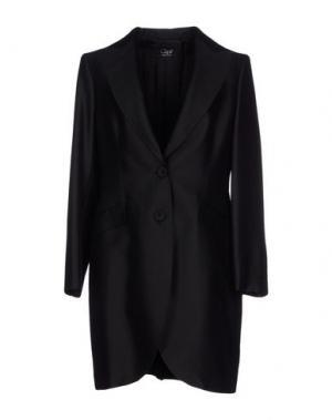 Легкое пальто CLIPS. Цвет: черный