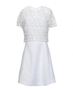 Короткое платье FRENCH CONNECTION. Цвет: белый