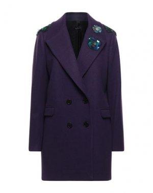 Пальто HANITA. Цвет: фиолетовый