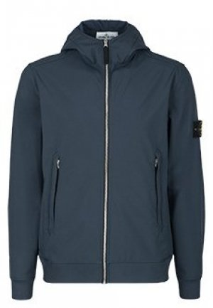 Куртка STONE ISLAND. Цвет: синий