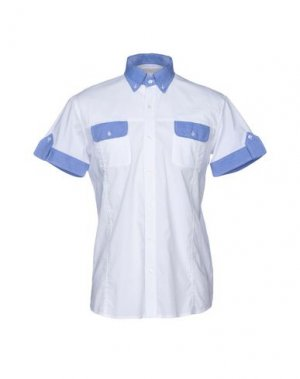 Pубашка DANIELE FIESOLI. Цвет: белый