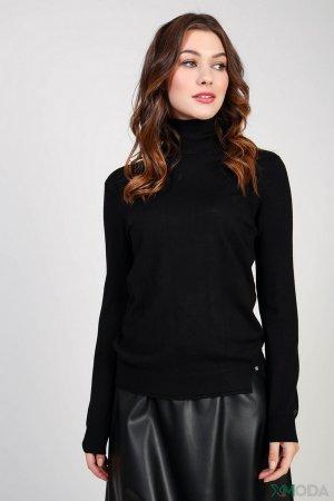 Водолазка Gaudi Jeans. Цвет: чёрный