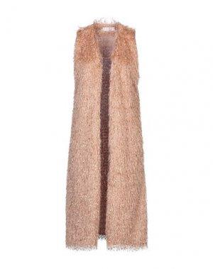 Легкое пальто KAOS. Цвет: верблюжий