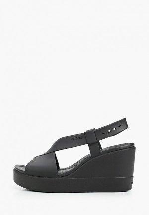 Босоножки Crocs Brooklyn High Wedge W. Цвет: черный