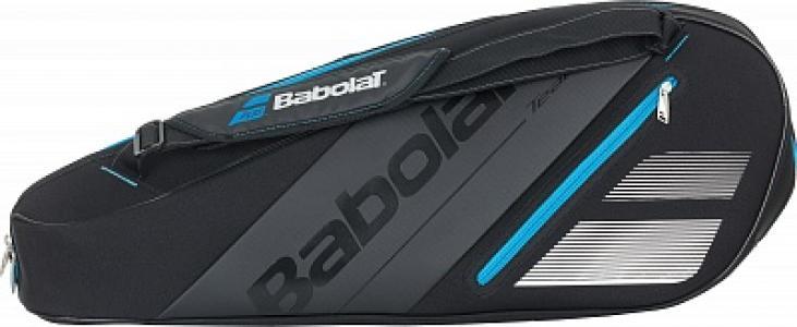 Сумка RH X 3 Team Babolat. Цвет: черный