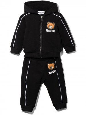 Спортивный костюм с нашивкой Teddy Bear Moschino Kids. Цвет: черный