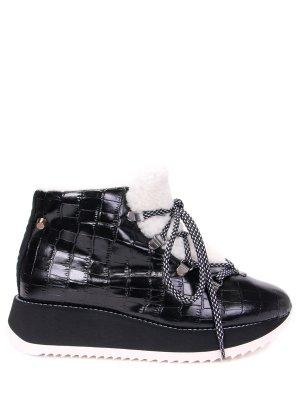 Ботинки комбинированные на меху JUDARI